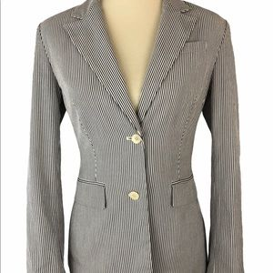 The Limited Pinstripe Two Button Blazer - Small